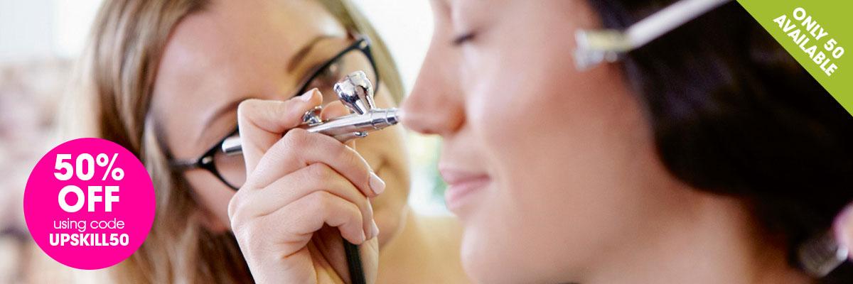 Airbrush Make-Up Training